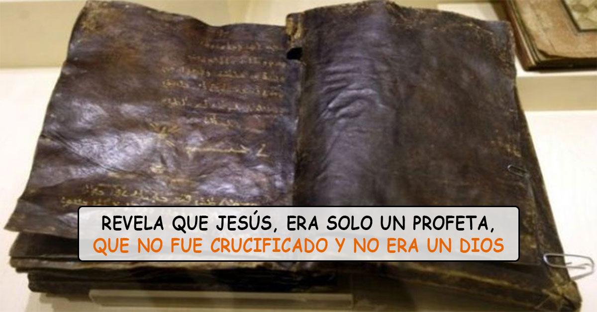 Tiembla el Vaticano tras descubrimiento de biblia de 1500 años que asegura Jesús no fue crucificado