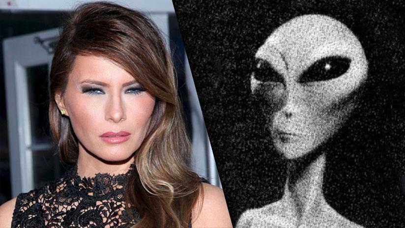 Melania Trump alien
