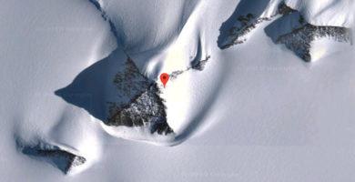 Pirámides en la Antártida