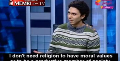 Ateo es tratado de loco y expulsado de televisión egipcia