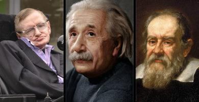 Conexión Cósmica? El misterioso enlace entre Hawking, Einstein y Galileo