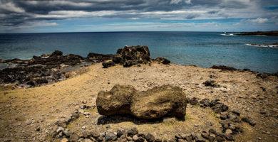 La isla de Pascua y sus estatuas Moai están desapareciendo