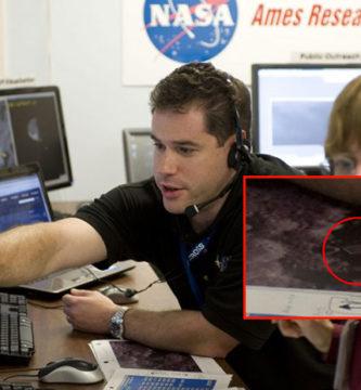 """NASA muestra estructuras """"extraterrestres"""" en la superficie de la luna"""