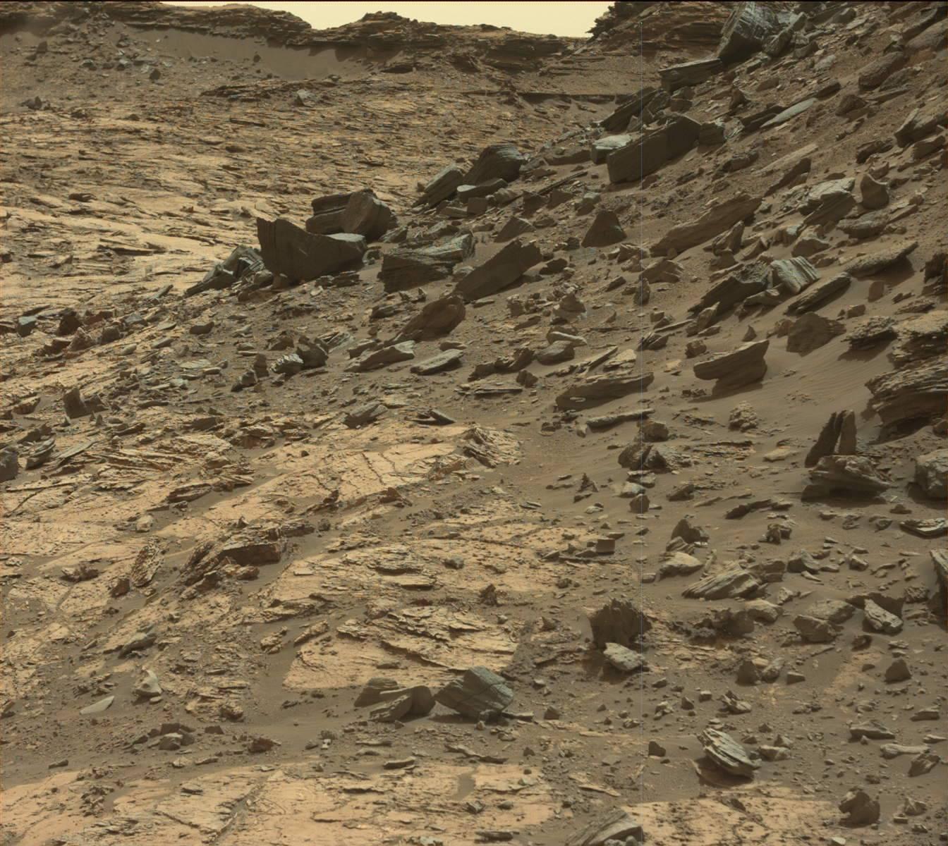 Imagen original de la superficie de Marte, NASA