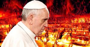 El infierno no existe: la sorprendente declaración del Papa Francisco