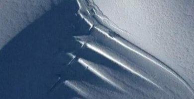 Encuentran una gigante antena extraterrestre en la Antártida