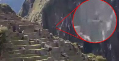 Graban OVNI en Machu Picchu
