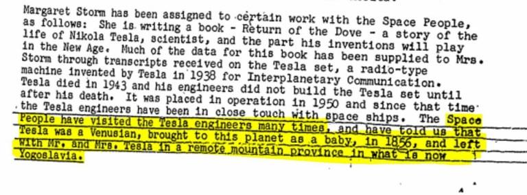 Documentos de la CIA - Nikola Tesla 01