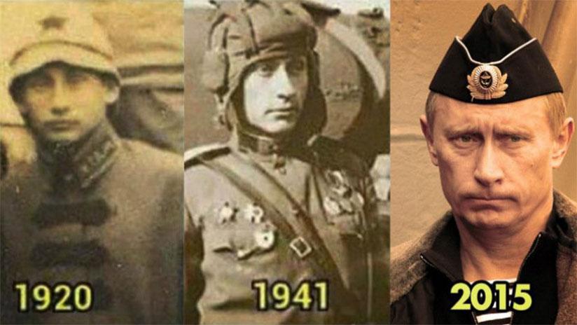 El curioso caso de Putin ¿inmortal o viajero del tiempo?