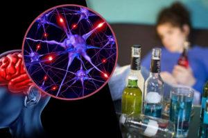 En una borrachera mueren un millón de neuronas