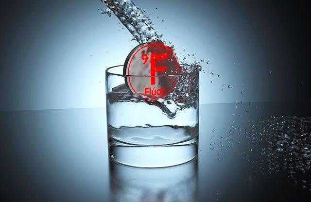 Flúor en el agua