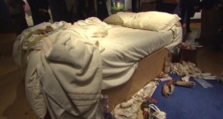 Ácaros en la cama ordenada