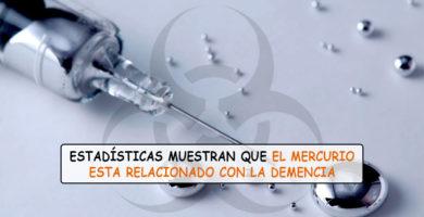 El mercurio en las vacunas causa demencia y enfermedades neurológicas