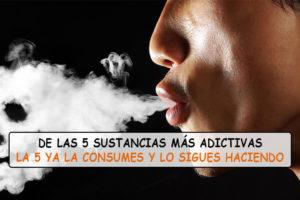 Estas son las 5 sustancias más adictivas de la Tierra