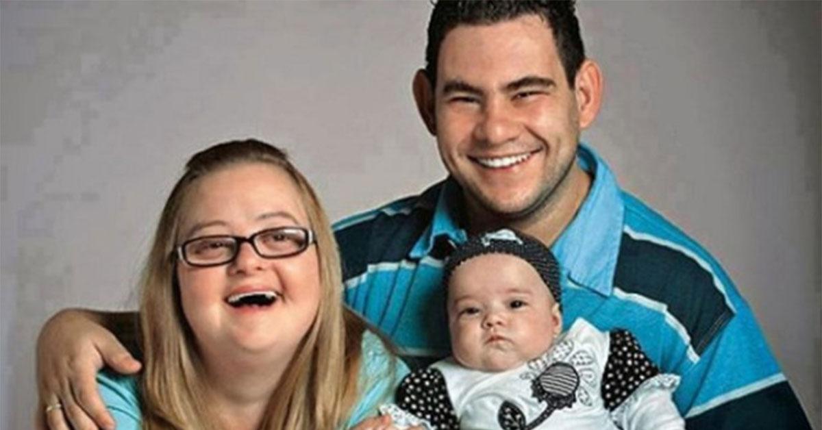 El milagro de Valentina: Niña con madre con síndrome de down y papá con retraso mental