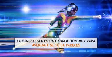 Sinestesia es la extraña condición de probar música, escuchar colores o ver sabores