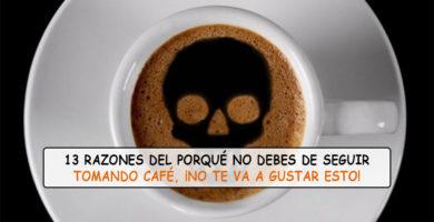 La Conspiración del Café ¡Tienes que dejar de tomarlo ya!